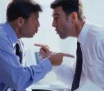 Due professionisti che litigano